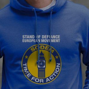 SODEM Action Hoodie with logo on the front & back