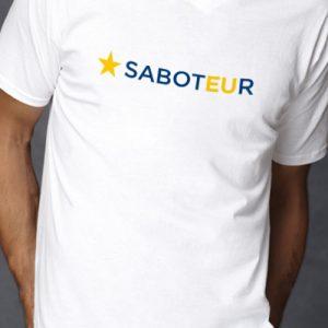 Saboteur – V Neck T-Shirt
