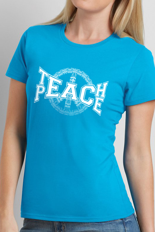 Ladies Teach Peace T-shirt