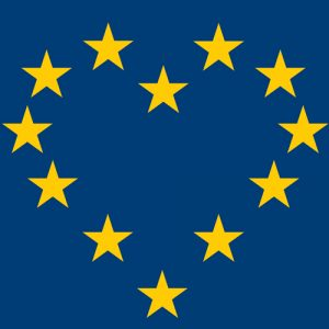"""EU Heart"" A3 Poster"