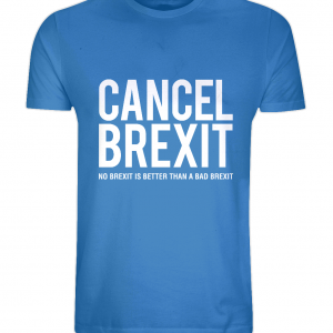 """Cancel Brexit"" Unisex Organic Cotton T-Shirt"