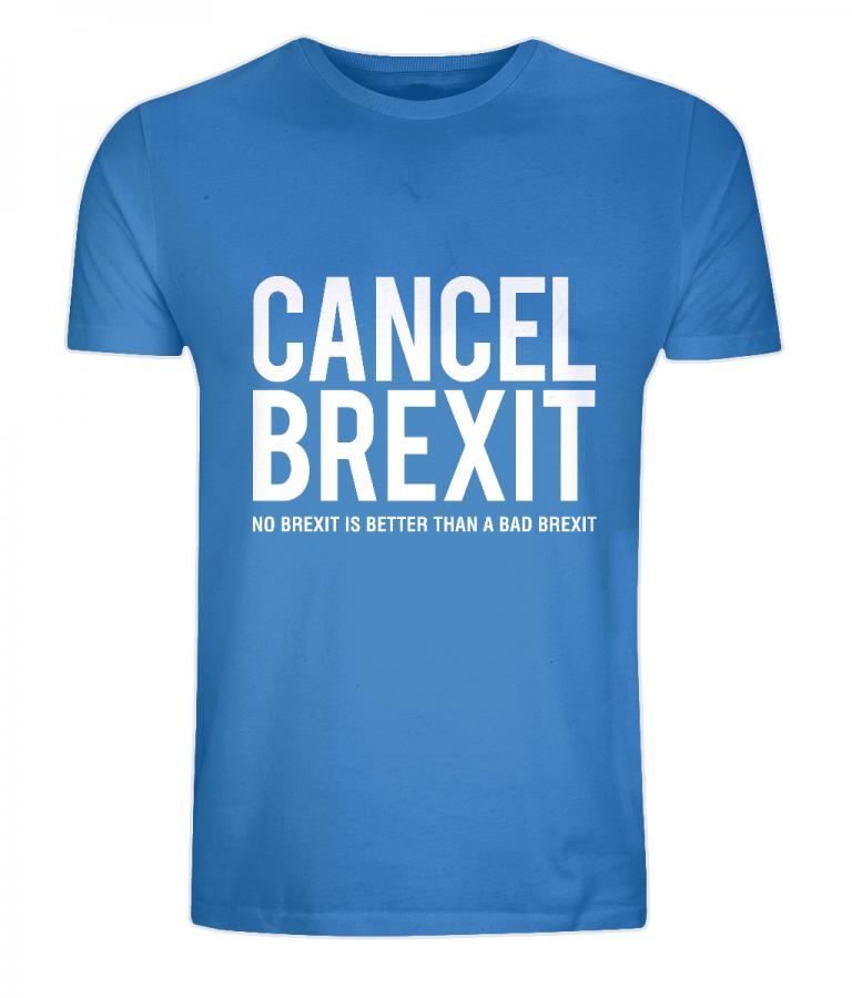 """""""Cancel Brexit"""" Unisex Organic Cotton T-Shirt"""