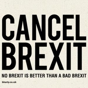 Cancel Brexit – Organic Tote
