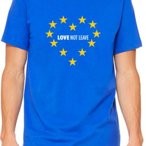 Love Not Leave – Unisex Crew Neck T-Shirt