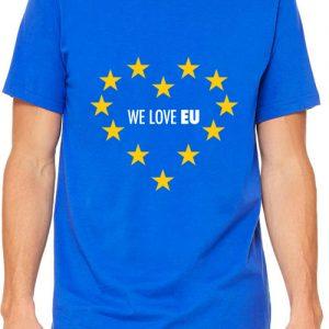We LOVE EU – Unisex Crew Neck T-Shirt