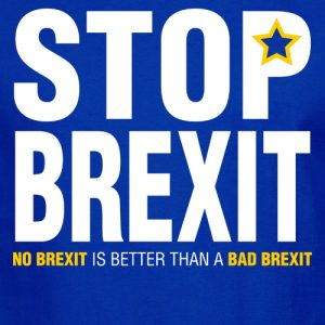 Stop Brexit Shoulder Tote Bag