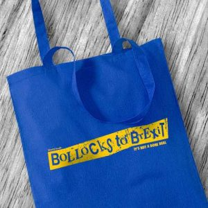 Bollocks to Brexit Tote Bag