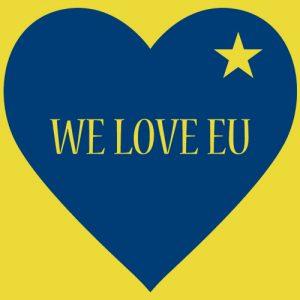 We Love EU Apron