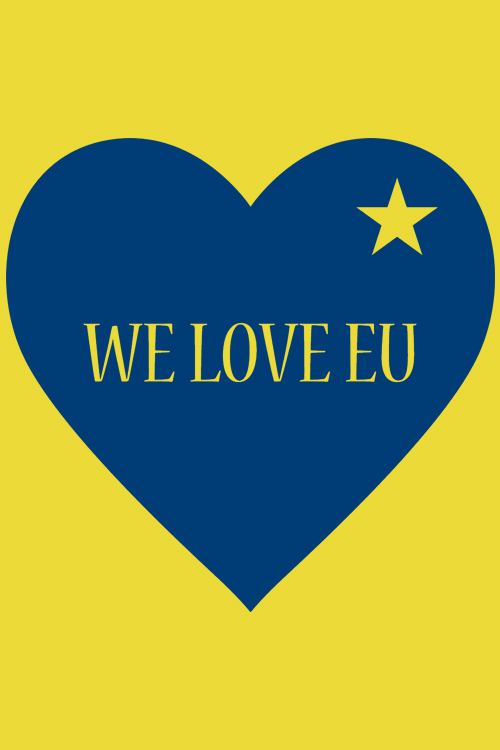 We Love EU Apron