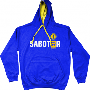 SODEM Saboteur Hoodie with Unity Flag on the back